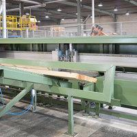 Wood saw with linear module 01