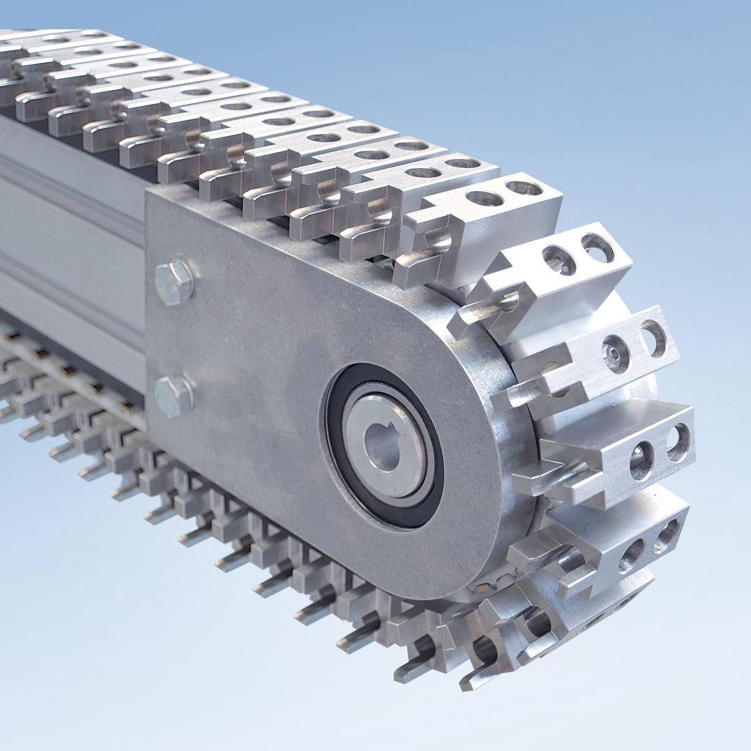 Timing Belt Conveyor Zrf P 2040 Mk Technology Group Chain