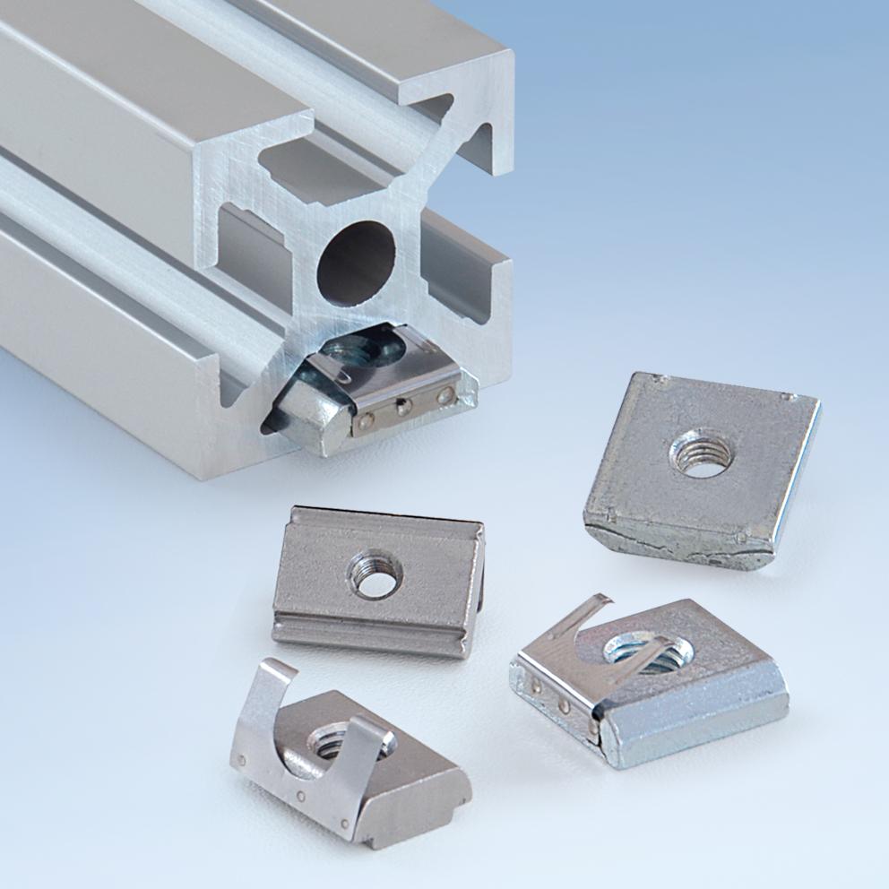 Other Accessories For Conveyor Technology Mk Group Wiring Laschen Und Nutensteine Fr Aluminiumprofile
