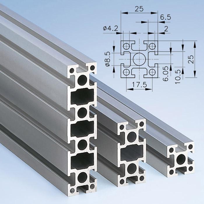 Series 25 Aluminium Profiles | mk Technology Group