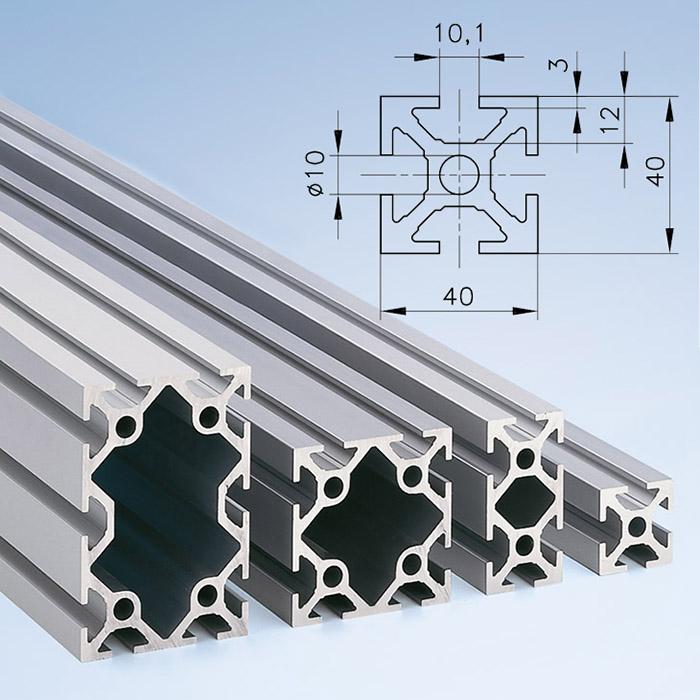 Series 40 Aluminium Profiles | mk Technology Group