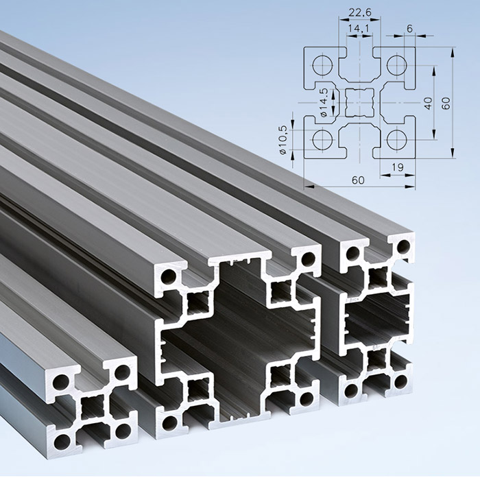 Series 60 Aluminium Profiles   mk Technology Group